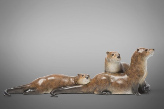 Ice Fishing - River Otters
