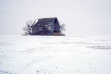 Barn in Winter